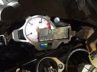 BMW S1000RR Clock Anti Theft Brace 2014 model onwards